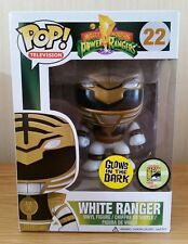 Funko POP! Mighty Morphin Power Rangers SDCC White ranger (Glow In The Dark)