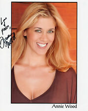 ANNIE WOOD AUTOGRAPHED PHOTO JOEY BECKER ER