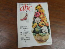 REVUE ABC ANTIQUITES 1966 No 15 POINCONS ARGENTERIE Nantes