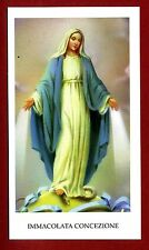 SANTINO IMMACOLATA CONCEZIONE   IMAGE PIEUSE - HOLY CARD-  Heiligenbild