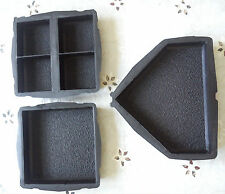SET OF 3 CONCRETE GARDEN MOULD PAVING FLOOR SLAB INTERLOCKING TILES 6