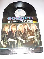 "EUROPE - The Final Countdown - Original 1986 UK Epic label 3-track 12"" Single"