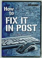 How To Fix It In Post DVD - An Educational DVD by Videomaker, Inc. - BRAND NEW!