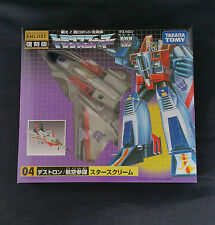 Transformers Starscream G1 Encore Takara Tomy
