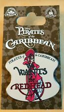 Pirates of Caribbean We Wants the Redhead Disney Park Pin - NEW