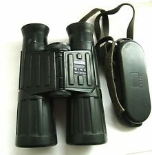 Zeiss 10 x 40 B Binoculars : Original Leather Case & Strap, made in West Germany