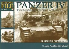 Auriga Publishing History File Panzer IV  Pictorial Ref. No. 003