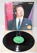 """12"""" LP - Harry Secombe & Adele Leigh - Operatic Arias - Wing WL1220 - 1958"""