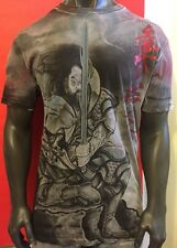 AFFLICTION HORIYOSHI LARGE,HEROES DEMONS,IREZUMI,TATTOO SHIRT,,STAR WARS