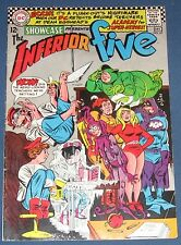 Showcase #65  Dec 1966  Inferior Five   X-Men Parody