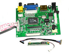 "HDMI+VGA+2AV controller driver board for 10.1"" N101LGE LP101WSA lcd panel"