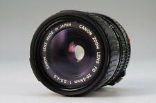 Canon ZOOM LENS FD 28-55mm 1:3.5-4.5 Made in Japan Free Shipping 619k16
