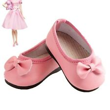 Handmade  Pink Boot Shoes For 16 inch American Girl Doll Party Gift Fashion