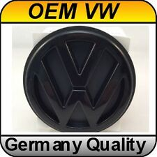 OEM Volkswagen Rear Emblem Badge VW Black Golf MK2 MK3 Jetta MK2 (87-92)