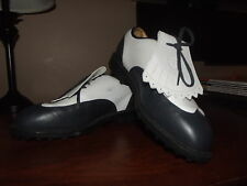 Nike Golf Vintage Look Golf Cleats SHoes Mens Size 8.  EUC