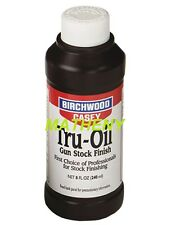 Tru-Oil 8 OZ 23035 Gun Stock Finish ~Birchwood Casey~ Truoil Wood Oil Protectant