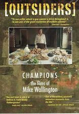 Champions - the Films of Mike Wallington DVD Screen Edge