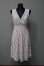 Container Kleid dress M Spitze Lace beige AA18