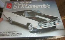 AMT 1969 GTX CONVERTIBLE Model Car Mountain KIT FS 1/25