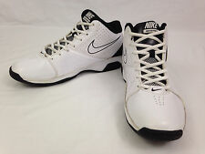 NIKE AIR VISI PRO 2 Shoes Mens 8 Size 2011 White Black Basketball 454163-101