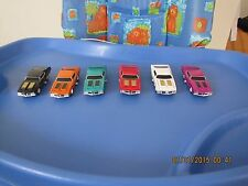 LOT OF 6 MUSCLE MACHINES 1 64 1970 OLDSMOBILE W-30 RAM AIR HOOD ALL COLORS