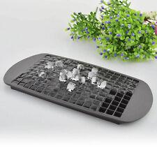 1Pc 160 Ice Cubes Mini Cube silicone muffa del vassoio portautensili da cucina