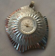 Vintage 1960s mid-century Modern Atomic Garfield  Pendant for Necklace Watch