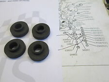 ROVER P6 2000/2200 MANUAL GEARBOX MOUNT RUBBERS GENUINE SET OF 4