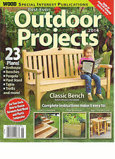 WOOD, SPECIAL INTEREST PUBLICATIONS BEST EVER  OUTDOOR PROJECTS,  2014
