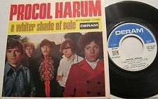 PROCOL HARUM - A Whiter Shade of Pale - 45 - ps - France - 60s Psych RARE L@@K