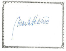 MARK ADAMO, NYC opera composer, AUTHENTIC HAND SIGNED BOOKPLATE