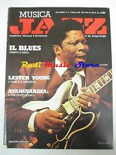 Rivista MUSICA JAZZ 2/1983 B.B. King Lester Young Teddy Weatherford Carter *NOcd