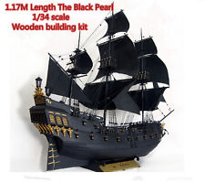 model ship kits 1/34 scale Black Pearl model ship kit large scale wood ship kit