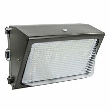 Lights of America 65 Watt Dusk to Dawn LED Wall Pack 6000 Lumens (91465E2-BR5)