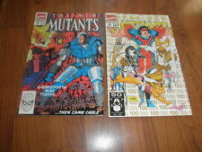 New mutants # 91 and 100
