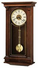 625-524 SINCLAIR- HOWARD MILLER WALL CLOCK , HARMONIC TRIPLE CHIMES 625524