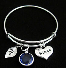 Niece Bracelet,Gift for Niece,Niece Charm Niece Jewelry,Children Bangle Bracelet