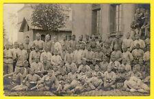 cpa Carte Photo MULHOUSE Caserne Militaire SOLDATS du 147e Régiment
