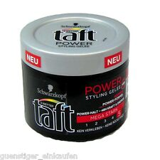 (24,73€/L) 150ml Taft Power Styling Gelee Mega Stark Power Halt Styling
