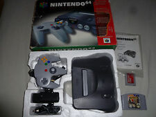 BOXED NINTENDO 64 N64 CONSOLE SYSTEM & GAME LOT CASTLEVANIA COMPLETE MEMORY CARD