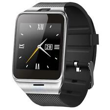 Caméra GV18 Bluetooth montre Smart Watch GSM NFC carte SIM pour iphone 6s EH