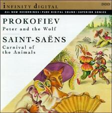 Prokofiev: Peter and the Wolf; Saint-Saens: Carnival of the Animals (CD, Feb...