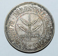 PALESTINE: 50 Mils Coin since 1935 in aXF Condition. Uncleaned.