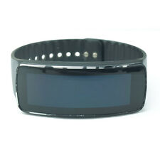 Samsung Galaxy Gear Fit SM-R350 Smartwatch Fitness Tracker Black w/ charger dock