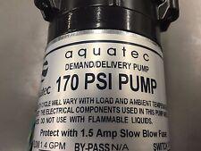 Carpet Cleaning - AQUATEC 170 PSI Extractor Pump