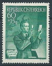 1950 AUSTRIA GIORNATA DEL FRANCOBOLLO MNH ** - A086-4
