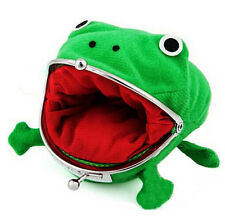 Naruto Frog Shape Uzumaki Chic Wallet Green Cosplay Coin Purse Plush