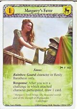 3 x Margaery's Favor AGoT LCG 1.0 Game of Thrones The Blue is Calling 102
