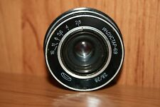 Industar-69 28mm f/2.8 wide angle lens M39 mount