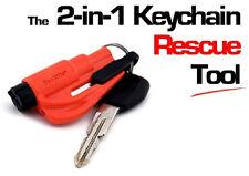 NEW Kroll Orange RESQME Keychain Window Breaker Rescue Tool